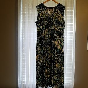 Print dress xl petite Blair